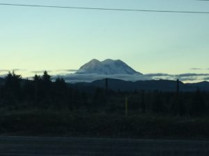 The picture I took driving out of town. The first clear day...